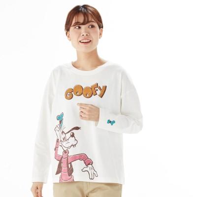 ビッグ長袖Tシャツ(選べるキャラクター)(ディズニー)