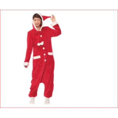【レディ】オールインワンサンタ【Sweet Soft】【サンタ】【クリスマス】【仮装】【衣装】【コスプレ】【コスチューム】【サンタクロー・