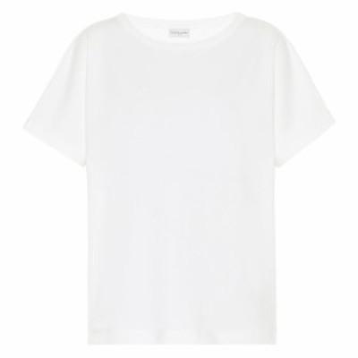 ドリス ヴァン ノッテン Dries Van Noten レディース Tシャツ トップス Cotton-jersey T-shirt White