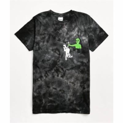 リップンディップ RIPNDIP レディース Tシャツ トップス Hung Up Black Tie Dye T-Shirt Assorted