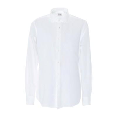 グランシャツ GLANSHIRT シャツ ホワイト 43 コットン 100% シャツ