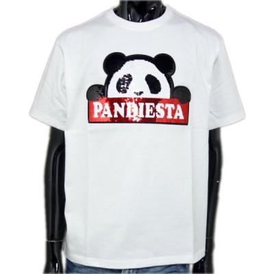 パンディエスタ パンダ 半袖 Tシャツ メンズ 20夏 白 520863