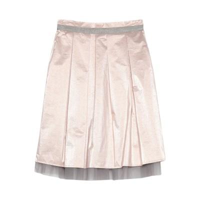 ペゼリコ PESERICO 7分丈スカート ローズピンク 46 ポリエステル 48% / ナイロン 40% / ポリウレタン 12% 7分丈スカート