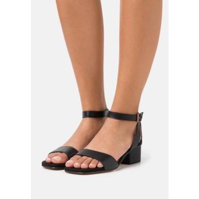 ウニサ レディース 靴 シューズ KRUCES - Sandals - black