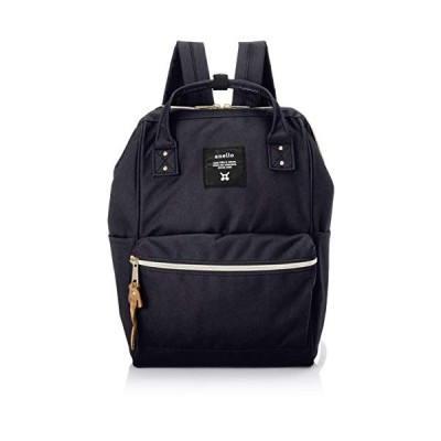 [Anero] [Official] Poly Canvas Cap Mini Backpack AT-B0197B Navy 並行輸入品