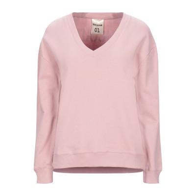 セミクチュール SEMICOUTURE スウェットシャツ ピンク S コットン 100% スウェットシャツ