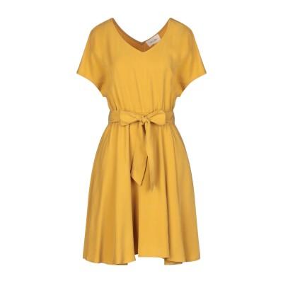 アメリカン ヴィンテージ AMERICAN VINTAGE ミニワンピース&ドレス オークル S テンセル 100% ミニワンピース&ドレス