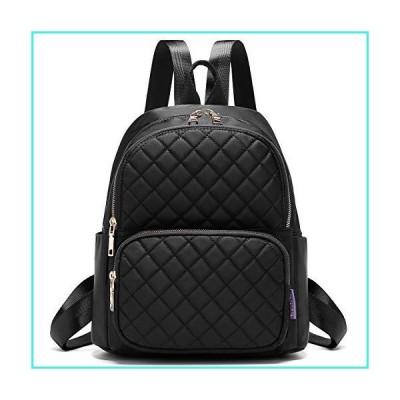 【新品】Backpack for Women, Fashion Backpack Multipurpose Design Handbags and Shoulder Bag Travel Backpack Purse Black(並行輸入品