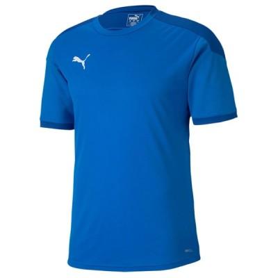 プーマ サッカー プラクティスシャツ TEAMFINAL21 トレーニング シャツ エレクトリックブルーL 02 PU-656977-02