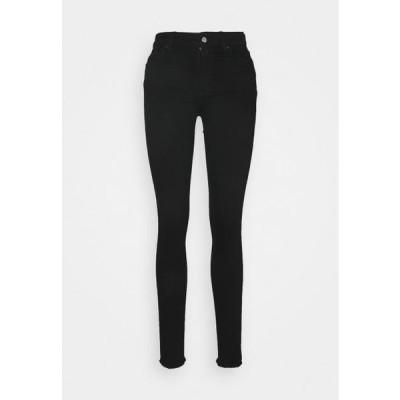 レディース ジーンズ ONLBLUSH LIFE - Jeans Skinny Fit - black