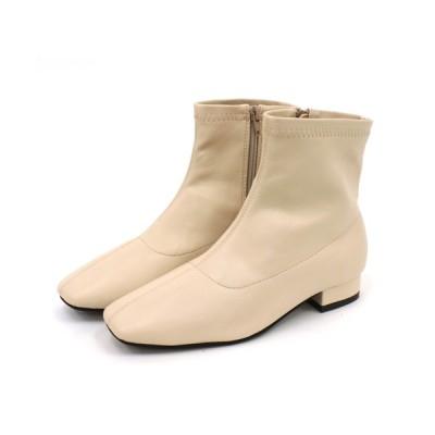 Carlie e felice / 履き心地柔らか 切り替えストレッチショートブーツ【RIIIKA/リーカ】 WOMEN シューズ > ブーツ