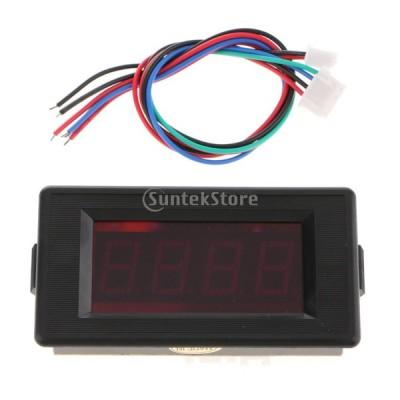 時間計 タイマー クロノメーター 高速 IC トータライザ 時間計 パネル デジタルLED レッド - GDD7949SC-P12V