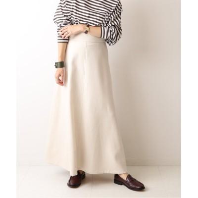 【プラージュ】 Dry wool maxi スカート◆ レディース ホワイト 36 Plage