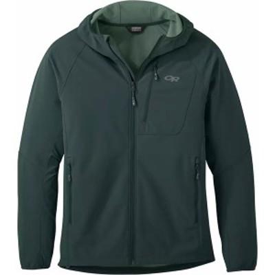 アウトドアリサーチ メンズ ジャケット&ブルゾン アウター Ferrosi Grid Hooded Jacket - Men's Fir