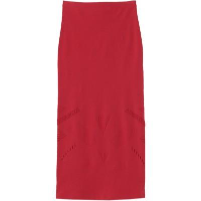 ピンコ PINKO 7分丈スカート レッド XS ナイロン 81% / ポリウレタン 19% 7分丈スカート