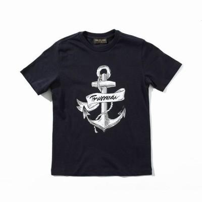 TRUSSARDI トラサルディ プリント Tシャツ カットソー おしゃれ かっこいい ブランド 子供服 こども服 キッズ 男の子