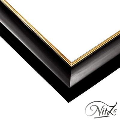 エポック社木製パズルフレームウッディーパネルエクセレントゴールドラインシャインブラック(26x38cm)(パネルNo