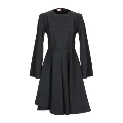 ジャンバ GIAMBA ミニワンピース&ドレス ブラック 40 コットン 60% / アクリル 40% ミニワンピース&ドレス