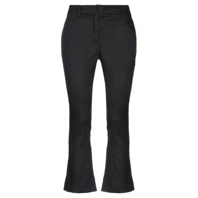 メッサジェリエ MESSAGERIE パンツ ブラック 40 コットン 98% / ポリウレタン 2% パンツ