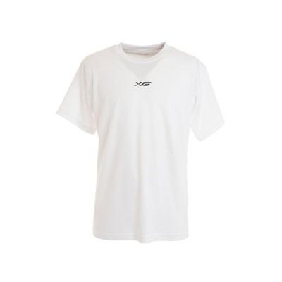エックスティーエス(XTS) Tシャツ メンズ 半袖 ドライプラス 吸汗速乾 Dont wish just 2 751G0ES8225 WHT 【 バスケットボール ウェア 】 (メンズ)