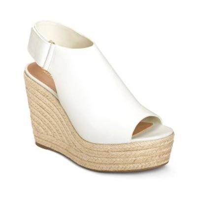 エアロソールズ レディース サンダル シューズ Martha Stewart Hillside Wedge Sandals Bone Leather