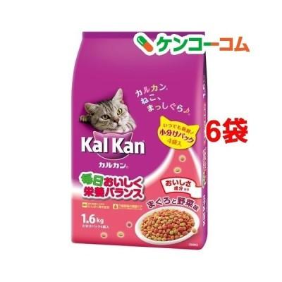 カルカン ドライ まぐろと野菜味 ( 1.6kg*6袋 )/ カルカン(kal kan) ( キャットフード )