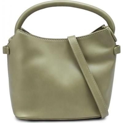ナタリー&ペッパー Natalie & Pepper レディース ハンドバッグ バッグ Bernice Square Handle Bag Green