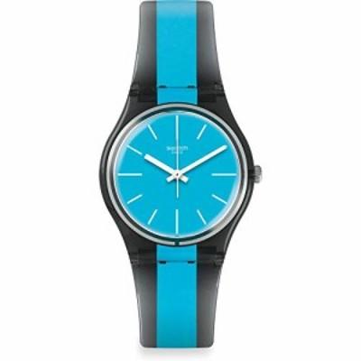 腕時計 スウォッチ メンズ Swatch Men's Azzurrami GM186 Blue Rubber Swiss Quartz Fashion Watch