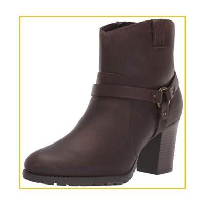 Clarks Women's Verona Rock Ankle Boot, Dark Brown Leather, 110 M US