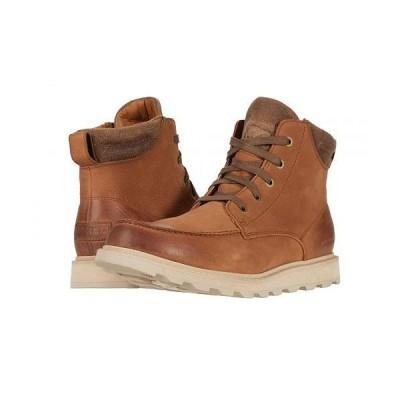 SOREL ソレル メンズ 男性用 シューズ 靴 ブーツ レースアップ 編み上げ Madson(TM) II Moc Toe Waterproof - Velvet Tan