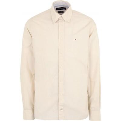 トミー ヒルフィガー TOMMY HILFIGER メンズ シャツ トップス Solid Color Shirt Beige