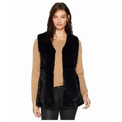 エコー デザイン レディース コート アウター ジャケット Faux Fur Vest