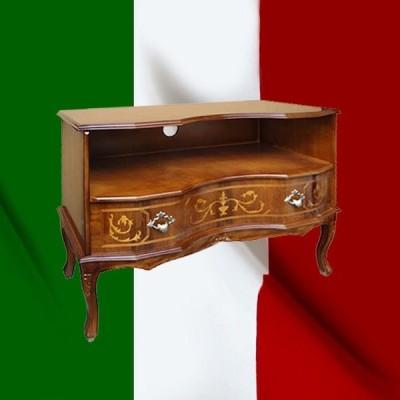 イタリア製 テレビ台 クラシック 象嵌 italy-032