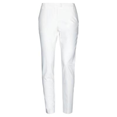 ブルーガール ブルマリン BLUGIRL BLUMARINE パンツ ホワイト 40 コットン 48% / ポリエステル 48% / ポリウレタン