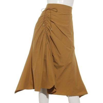 ドローストリングシャーリングスカート (YELLOW)