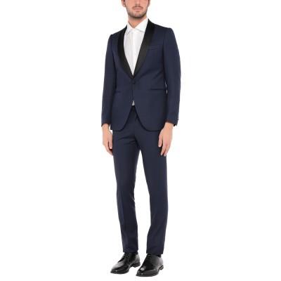 TOMBOLINI スーツ ダークブルー 48 バージンウール 100% スーツ