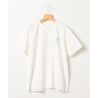 SHIPS for women/シップスウィメン SHIPS any: STANDARD プリント Tシャツ <WOMEN> ホワイト 5(L)