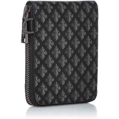 パトリックコックス メゾンラウンドファスナー二つ折り財布 Maison ラウンドファスナー二つ折り財布 ブラック