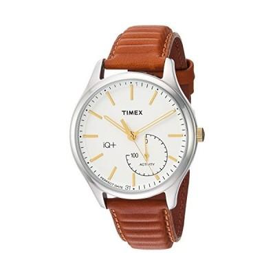 腕時計 タイメックス メンズ TW2P94700 Timex Men's TW2P94700 IQ+ Move Activity Tracker Caramel Brown