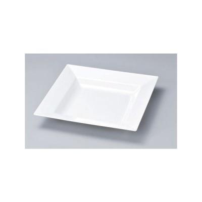ビュッフェ盛鉢 メラミン 正角鉢 白 大 46cm    46×46×7.3cm