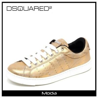 ディースクエアード スニーカー レディース ゴールド DSQUARED2 靴