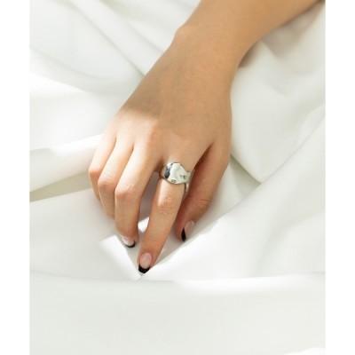 指輪 バンピーラインリング