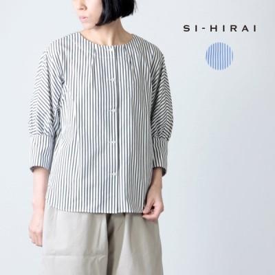 【30% OFF】SI-HIRAI (スーヒライ) プレミアムコットンドルマンパフスリーブブラウス