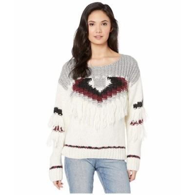 カレント エリオット ニット&セーター アウター レディース The Rosemary Sweater Full Cream