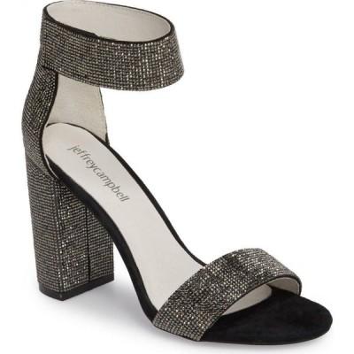 ジェフリー キャンベル JEFFREY CAMPBELL レディース サンダル・ミュール シューズ・靴 Lindsay Sandal Black Suede Black