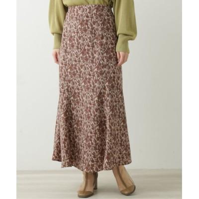 Ray Cassin / ニュアンスパターンナロースカート WOMEN スカート > スカート