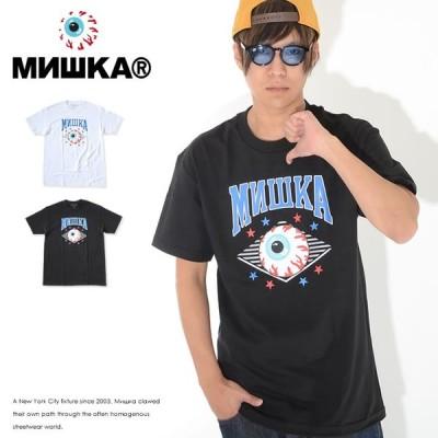 MISHKA ミシカ Tシャツ 半袖 アーチロゴ キープウォッチ (FW191010) セール