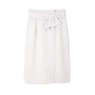 【プロポーションボディドレッシング/PROPORTION BODY DRESSING】 ラスティックリボンタイトスカート