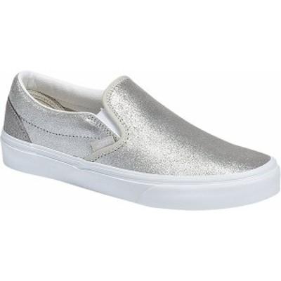 バンズ レディース スリッポン・ローファー シューズ Classic Slip-On Silver/Silver
