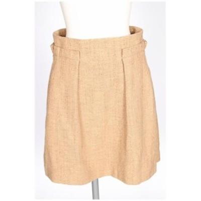 【中古】ルージュヴィフ Rouge vif ツイード スカート /tt0510 レディース